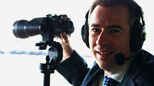 Gerard Whateley wins AFL media award