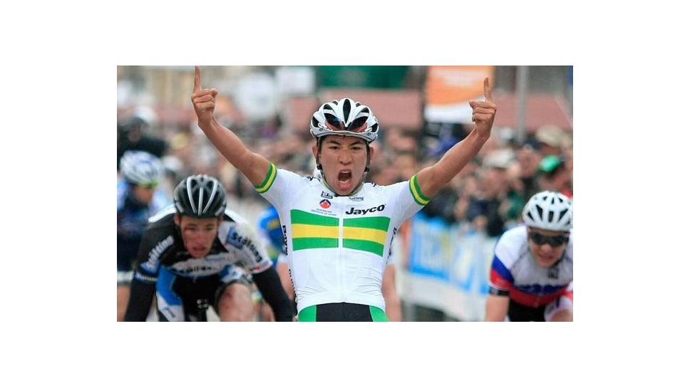 A win for Caleb in the Tour de L'avenir