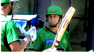 David Hussey named Melbourne Stars captain
