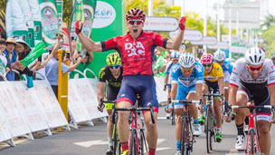 Brenton Jones wins final stage at Hainan