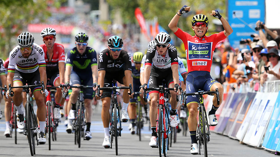 CALEB SCORCHES THE SANTOS TOUR DOWN UNDER