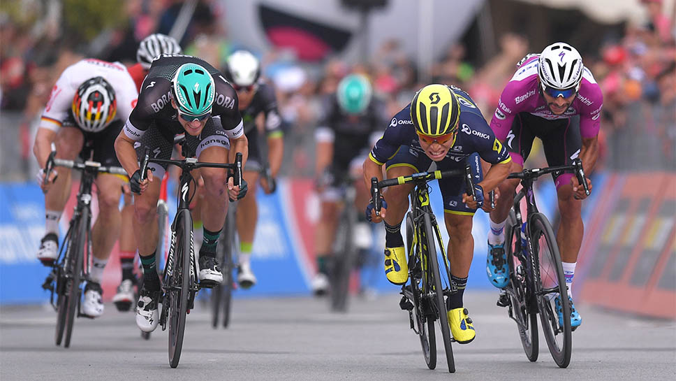 Ewan claims win in stage 7 Giro