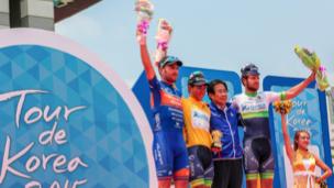 Caleb Ewan wins Tour de Korea