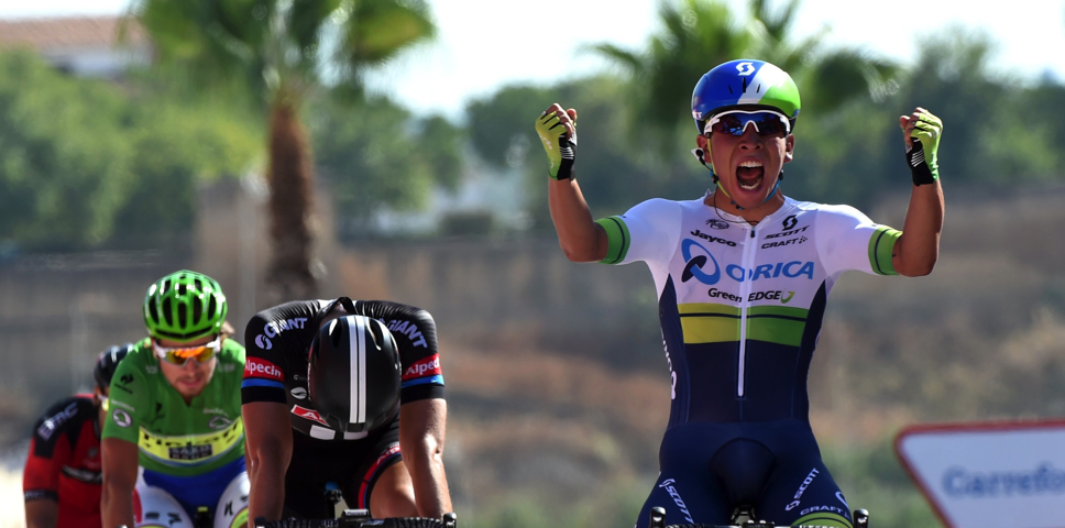 Caleb Ewan sprints to maiden Grand Tour stage victory