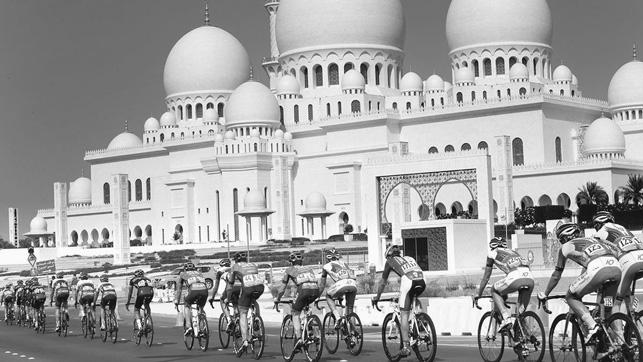 Brenton Jones blogs about inaugural Abu Dhabi