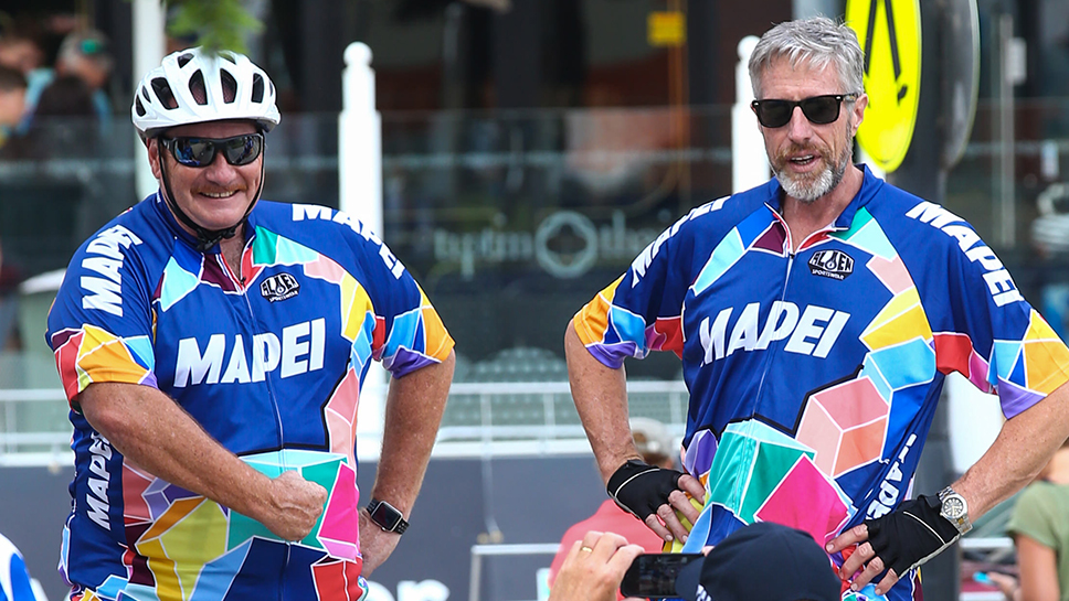 Mapei makes mark on Victorian cycling