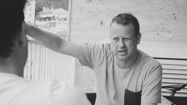Behind the scenes with cycling manager Jason Bakker